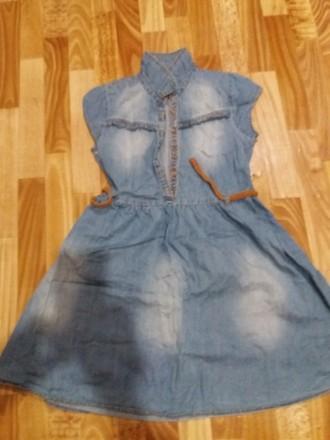 Платье джинсовое. Киев. фото 1