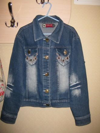 Джинсовая куртка. Запоріжжя. фото 1