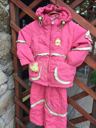 Куртка и полукомбинезон демисезонный. Константиновка. фото 1