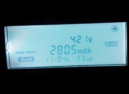 Аккумуляторы Videx Li-ion 18650 2800 mah реальная ёмкость  Состояние товара : . Одесса, Одесская область. фото 6