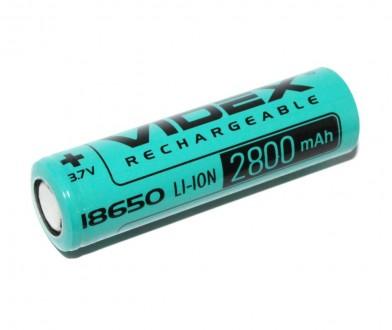 Аккумуляторы Videx Li-ion 18650 2800 mah реальная ёмкость  Состояние товара : . Одесса, Одесская область. фото 3