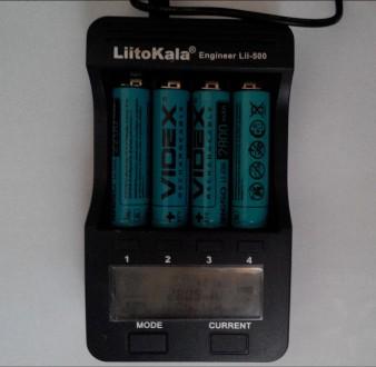 Аккумуляторы литиевые Videx Li-ion 18650  2200mah   Состояние товара : Новый . Одесса, Одесская область. фото 4