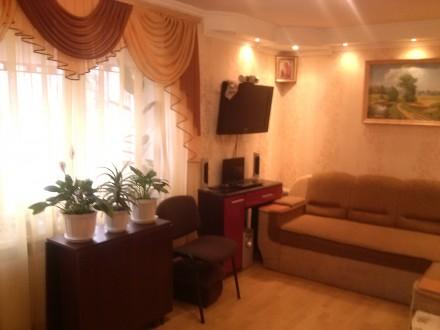 Обменяю комнату в трехкомнатной квартире с доплатой на однокомнатную. Сумы. фото 1