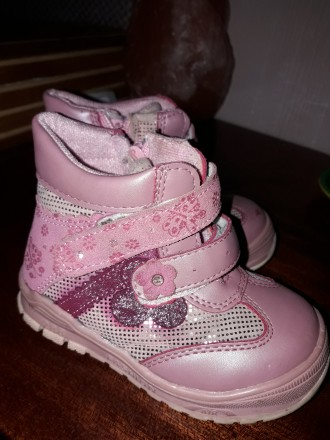 Деми ботинки на девочку. Кропивницкий. фото 1