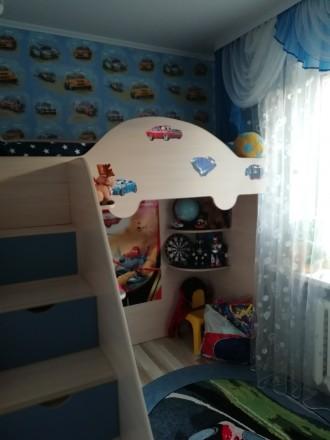 Хороша 2-кімнатна квартира перепланована на 3 кімнати.Район Відродження, біля Та. Видродження, Луцк, Волынская область. фото 5