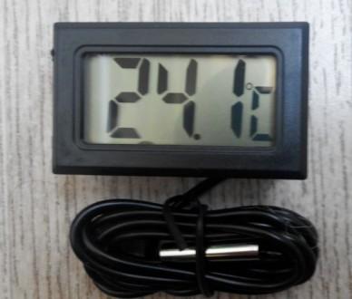 Датчик температуры термометр с LCD экраном цифровой  Благодаря этому прибору В. Одесса, Одесская область. фото 3