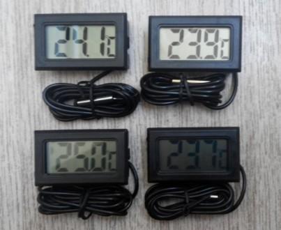 Датчик температуры термометр с LCD экраном цифровой  Благодаря этому прибору В. Одесса, Одесская область. фото 4