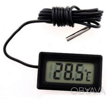Датчик температуры термометр с LCD экраном цифровой  Благодаря этому прибору В. Одесса, Одесская область. фото 1