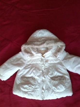 Курточка для девочки (рост 70см). Каховка. фото 1