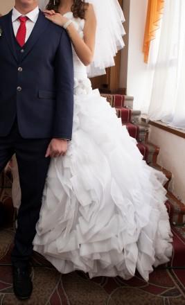 Продам свадебное платье копия Vera Wang. Житомир. фото 1