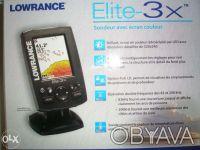 Продам эхолот Lowrance Elite 3x, новый, недорого! Гарантия 2 года!. Днепр. фото 1