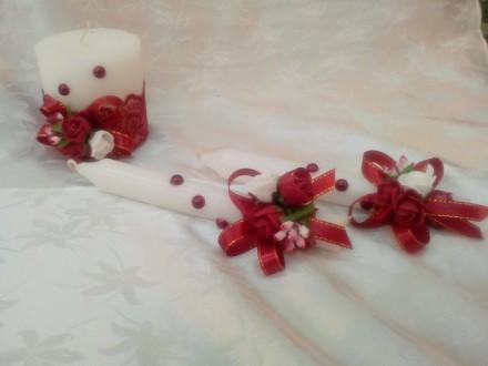 Свечи свадебные. Суми. фото 1