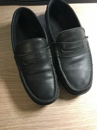 Туфли на мальчика р. 33,5-34 в школу  NEXT. Дніпро. фото 1