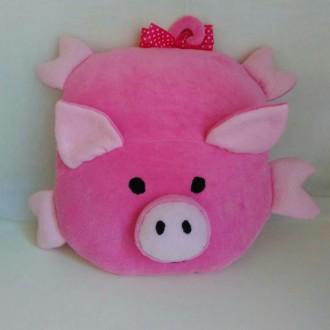Свинка подушка-игрушка, символ 2019 года. Днепр. фото 1