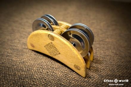 Тамбурин Mion універсальний (бубен, tambourine, компакт) кріплення на ногу, руку. Киев. фото 1