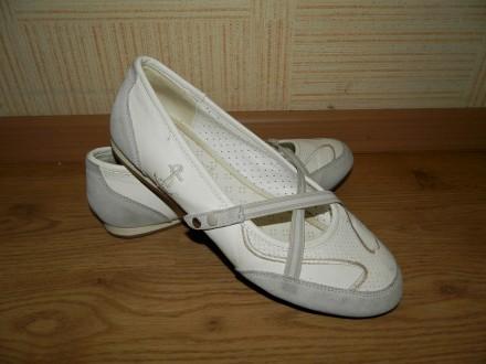d1a3be79b1d15e Туфли, балетки в спортивном стиле Ariane Германия р.37,5- 38 стелька 24 см.  180 ГРН торг