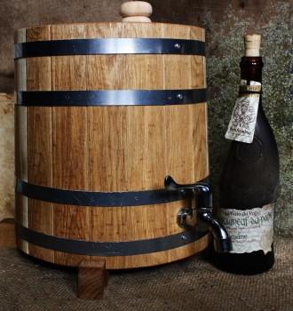 Бочкая дубовая для вина 10- 50 литров. Киев. фото 1