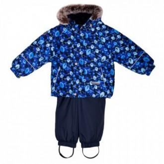 Куртка + штаны полукомбинезон Lenne р 98. Великая Багачка. фото 1