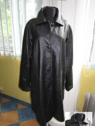 Большая женская кожаная куртка - плащ Collection. Лот 525. Ужгород. фото 1