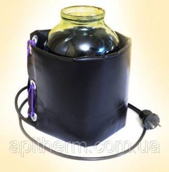 Декристаллизатор, для разогрева мёда в банке 3 л. Безопасный нагрев до +40°С. ТМ. Павлоград, Днепропетровская область. фото 3