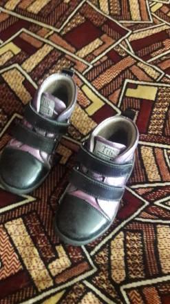Ботинки для девочки.. Бердянск. фото 1