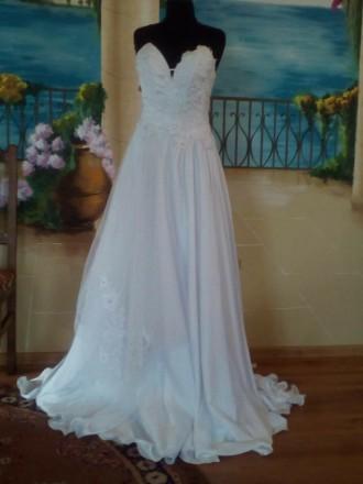 свадебное платье ,весільна сукня,нова. Городок. фото 1