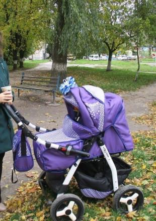 В хорошому стані після однієї дитини. Є люлька переносна, дождьовичок, москітна . Луцк, Волынская область. фото 4