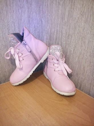 Продам ботиночки для девочки в хорошем состоянии. Чернигов, Черниговская область. фото 4