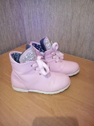 Продам ботиночки для девочки в хорошем состоянии. Чернигов, Черниговская область. фото 6