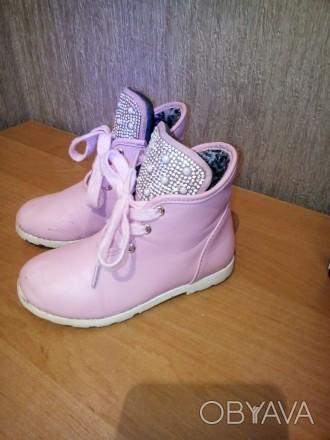 Продам ботиночки для девочки в хорошем состоянии. Чернигов, Черниговская область. фото 1