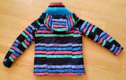 Зимняя мембранная куртка Roxy для девочки. Размер 8 (рост 128). Выполнена из про. Киев, Киевская область. фото 8