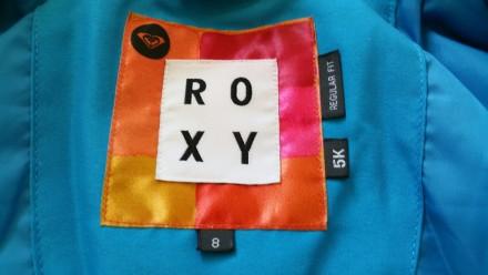 Зимняя мембранная куртка Roxy для девочки. Размер 8 (рост 128). Выполнена из про. Киев, Киевская область. фото 4