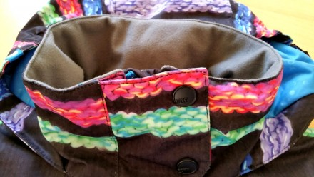 Зимняя мембранная куртка Roxy для девочки. Размер 8 (рост 128). Выполнена из про. Киев, Киевская область. фото 7