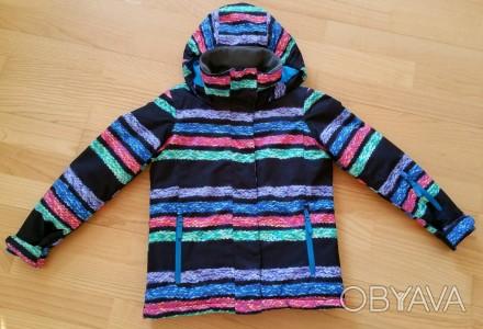 Зимняя мембранная куртка Roxy для девочки. Размер 8 (рост 128). Выполнена из про. Киев, Киевская область. фото 1