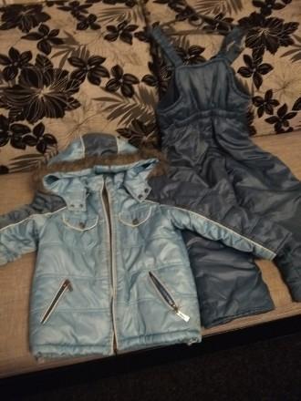 Зимний комбинезон, хорошее состояние. Замеры: длина куртки 53 см, длина рукава 4. Чернигов, Черниговская область. фото 5