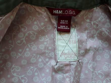 Легкая ветровка/пиджак для девочки H&M L.O.G.G., р.146, новая, без бирки. Соста. Киев, Киевская область. фото 4