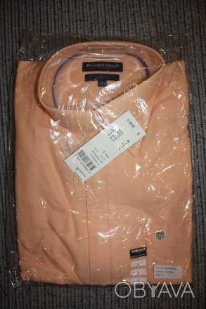 Продам рубашку BASEFIELD L regular fit, абрикосовая . Привезена из Германии Вор. Киев, Киевская область. фото 1