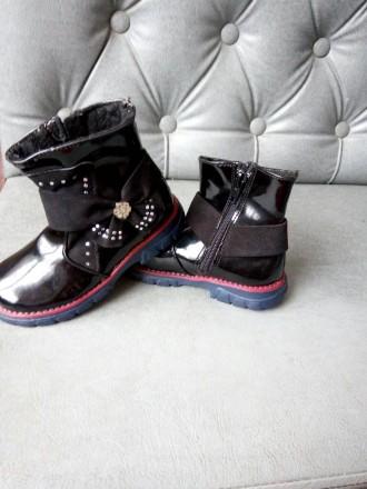 Ботинки для девочки. Александрия. фото 1