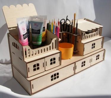 Органайзер для школьной канцелярии, творчества, рукоделия, пенал для детей. Одесса. фото 1