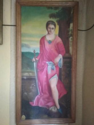 Картина маслом Юдифь. Мелитополь. фото 1