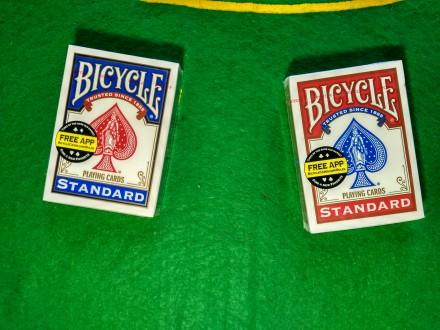 Игральные карты Bicycle Standard оригинальные карты для покера из США. Киев. фото 1