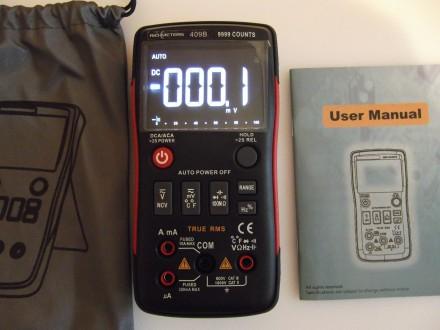 RM409B True-RMS цифровой мультиметр (автомат). Киев. фото 1