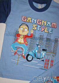 артикул:009.  Футболка Gangnam Style.  Производство: Турция.   100% хлопок. Одесса, Одесская область. фото 5