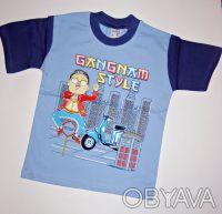 артикул:009.  Футболка Gangnam Style.  Производство: Турция.   100% хлопок. Одесса, Одесская область. фото 2