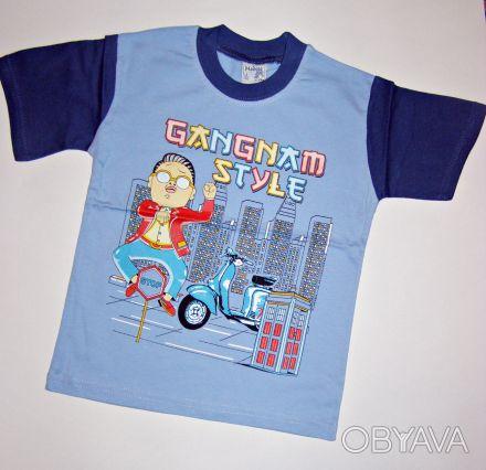 артикул:009.  Футболка Gangnam Style.  Производство: Турция.   100% хлопок. Одесса, Одесская область. фото 1