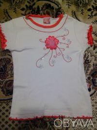 Нарядная,новенькая футболка, длина изделия 40см. Дніпро, Дніпропетровська область. фото 2