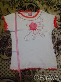 Нарядная,новенькая футболка, длина изделия 40см. Дніпро, Дніпропетровська область. фото 3