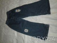 Продам  джинсы  на флисе, унисекс, на 3-5 лет. Харьков. фото 1
