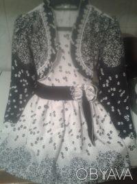 Нарядное платье, одевали пару раз на утренник, быстро выросли.В отличном состоян. Одесса, Одесская область. фото 6