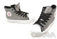 Шикарные ботиночки от ТМ B&G. Черные с серебряными каплями.  Выполнены из качест. Сумы, Сумская область. фото 3